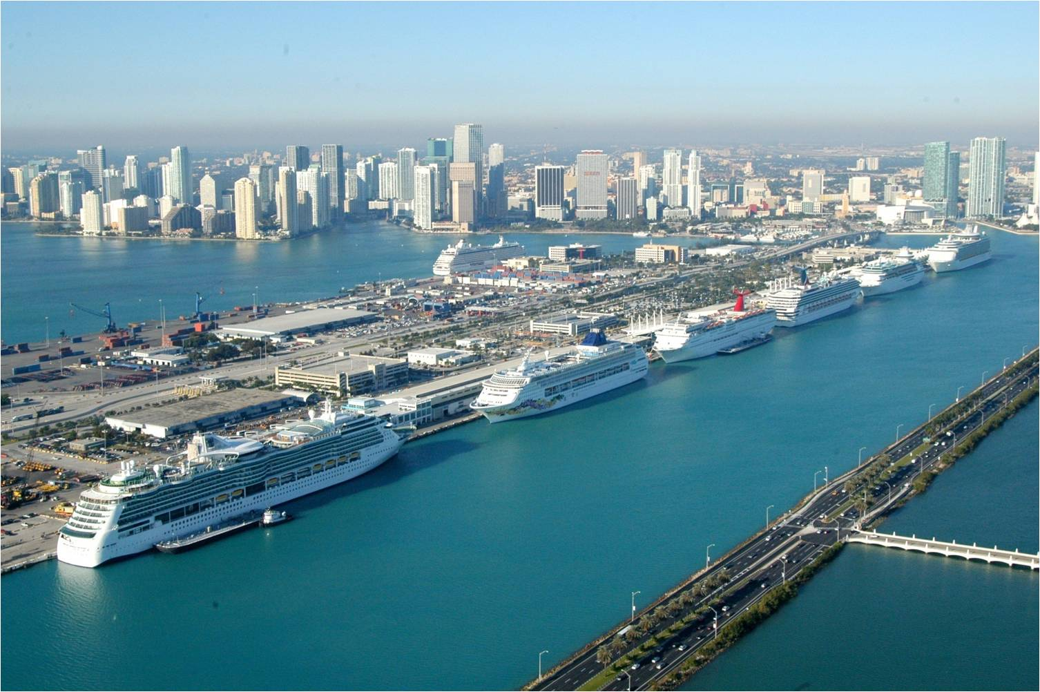 Living Up To Its Name Miami FL Port Crew Center - Cruise ship port in miami