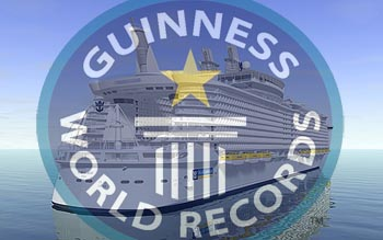 Guinness World Records on Cruise Ships   Crew Center