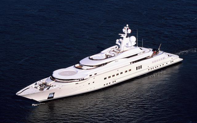 Roman Abramovich Eclipse Yacht Crew Center