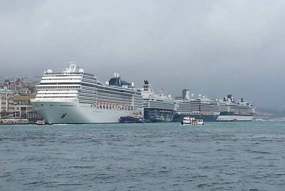 Istanbul  Turkey Cruise Ship Schedule 2018