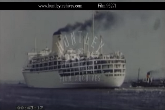 Life Onboard P Amp O Arcadia Cruise Ship In 1950s Crew Center
