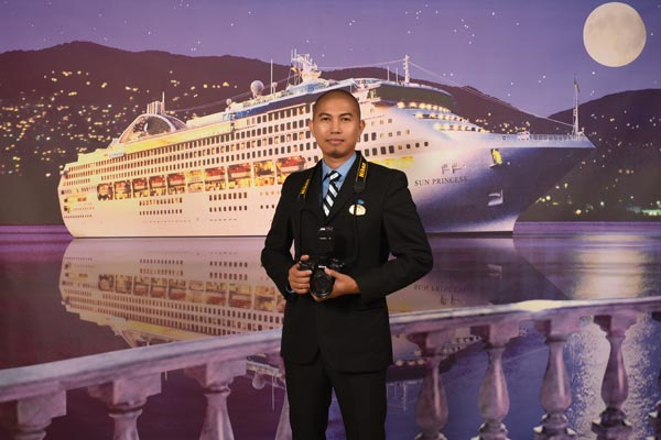 crew member so inspiring with his her achievements that are almost unreal we like to introduce mr jophel ybiosa a photographer on princess cruises - Cruise Ship Photographer