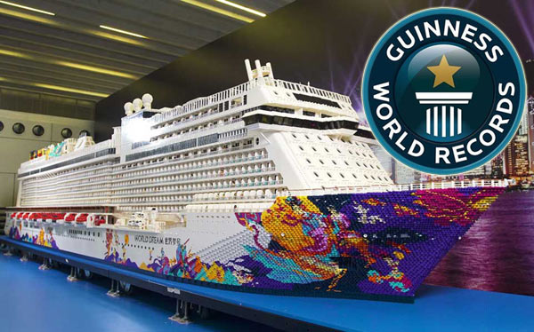 New Guinness World Record The World S Largest Lego Cruise